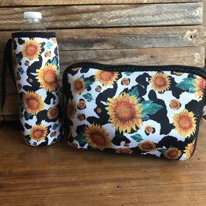 Handbags - Cow Print & Sunflowers Set